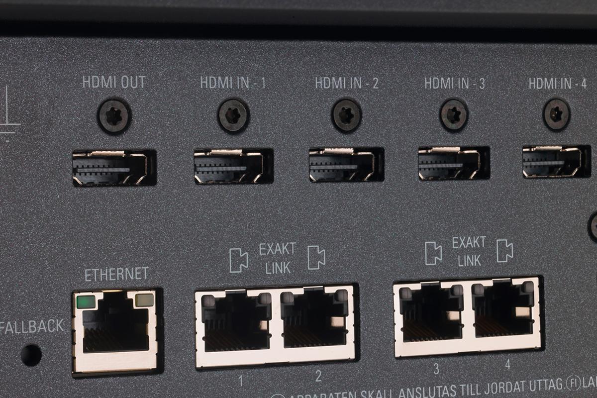 Linn Akurate Exakt System sockets