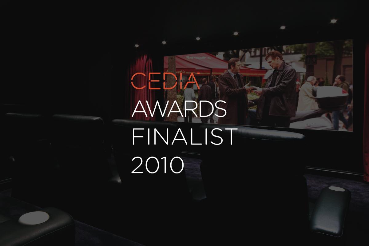 Best home cinema finalist £40,000 - £100,000